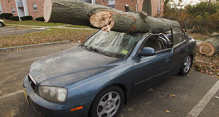The auto industry responds to hurricane Sandy