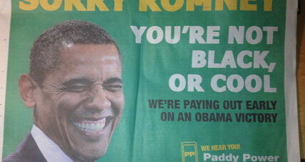 Obama victory a sure thing? A top Irish bookmaker thinks so.