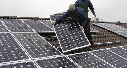 While solar booms, a trade row intensifies