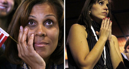 Waiting for Election 2012 results: Mood tense at Obama, Romney venues