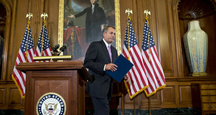 Election Day bears fruit? Boehner, Reid talk of compromise on 'fiscal cliff.' (+video)