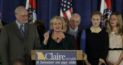 Claire McCaskill: 'most endangered Democrat' wins Missouri Senate race (+video)