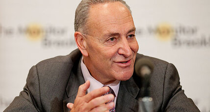 Senator Schumer 'very heartened' by Boehner's 'fiscal cliff' speech