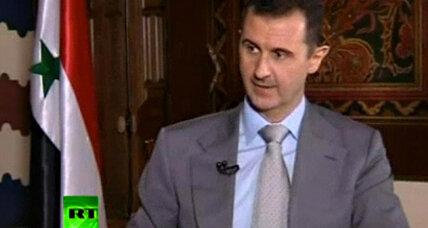 Assad: 'I will live and die in Syria'