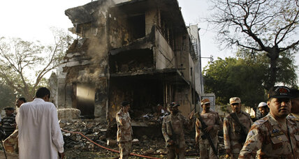Pakistani Taliban claim suicide attack on Karachi barracks