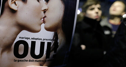 Support for gay marriage in France declines as government pushes bill