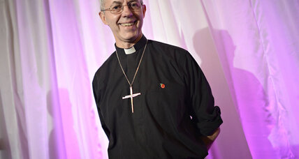 Can a former oil executive hold together the Anglican Church?