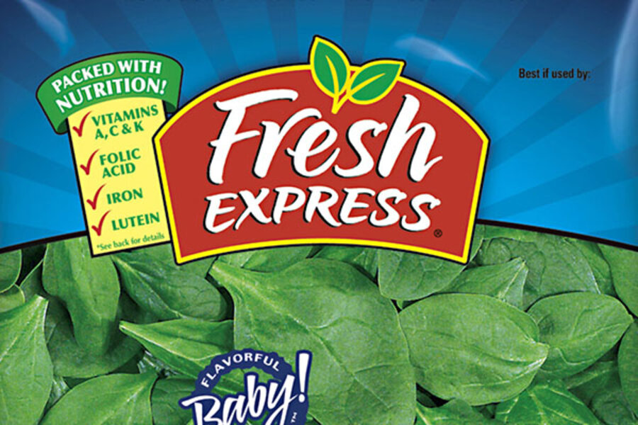 Spinach recall for Fresh Express  Are you affected