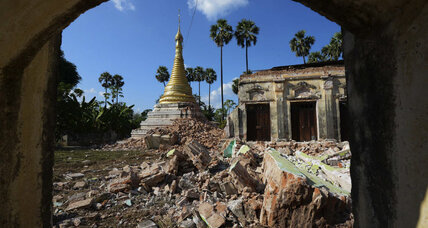 A dozen feared dead after quake rattles Myanmar