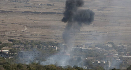 Israel fires warning shots into Syria for first time
