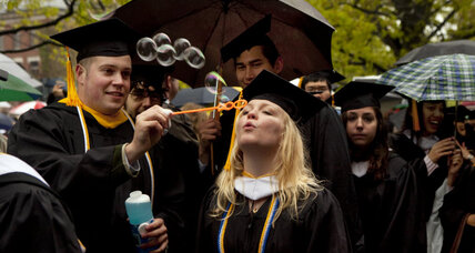 Young adults are earning college degrees at a record rate. Why?