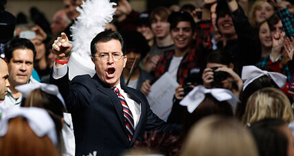 Stephen Colbert shuts super PAC. Where did the money go?
