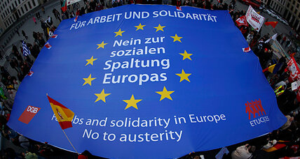 Anti-austerity strikes spread across Europe, lead to arrests, canceled flights