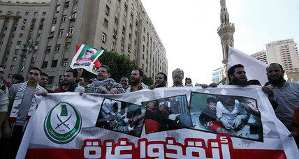 Gaza: Egypt shows support of Hamas (+video)