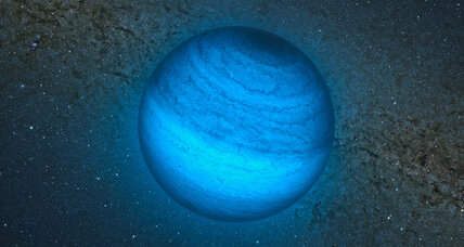 Gigantic orphan planet: Homeless world hurtles through space without star (+video)