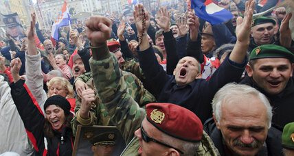 Croatian generals' war crime convictions overturned