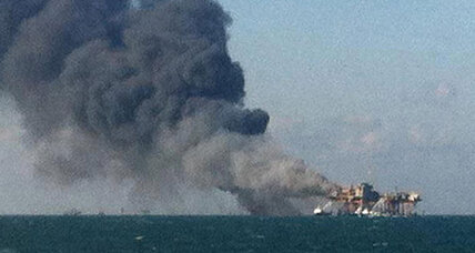 Deadly oil rig explosion puts spotlight back on embattled Gulf drillers