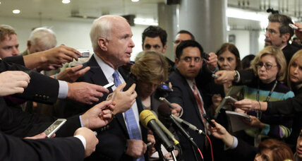 McCain calls for a Clinton intervention between Israel and Palestine