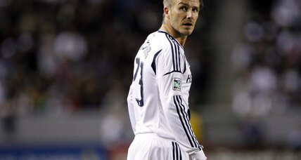 Say goodbye to Beckham: Player to leave L.A. Galaxy after MLS Cup final (+video)