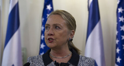 Gaza: Clinton works for truce 'in the days ahead'