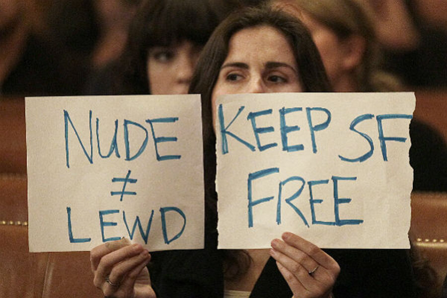 4 arrested for defying San Franciscos nudity ban - CBS News