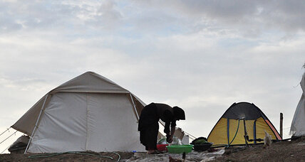 Iran's summer earthquake leaves 100,000 shivering in tents as winter descends