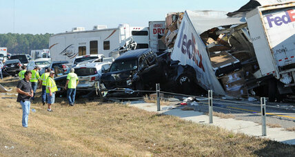 Texas highway pileup: time to slow the 'super truckers' down?
