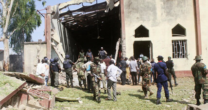 Another church bombed in Nigeria military barracks