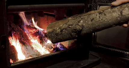 Fighting winter with fire? Wood-burning on the rise.