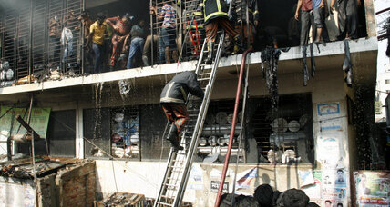 Wal-Mart distances itself from Bangladesh factory fire