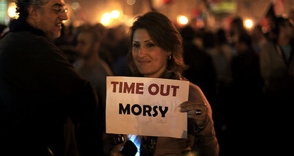 Why Egyptian protesters rally against Morsi