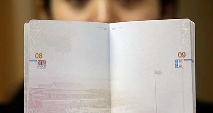 China's passport propaganda baffles experts