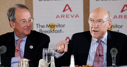 Falling off 'fiscal cliff' is 'insane' but likely, say Simpson and Bowles (+video)