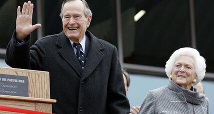 Former President George H. W. Bush expected to recover