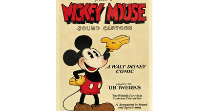 Mickey Mouse poster sells for more than $100,000