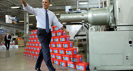 Why Obama is pushing for stimulus in 'fiscal cliff' deal (+video)