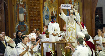 New pope named for Egypt's embattled Coptic Christians