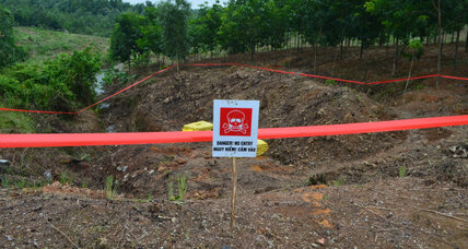 One by one, Vietnam deals with unexploded bombs
