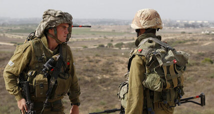 On the Gaza-Israel border, Israeli reservists weigh a ground assault