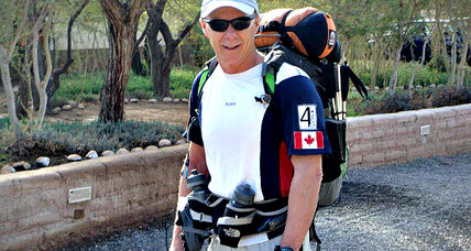 Len Stanmore mixes adventure with helping others