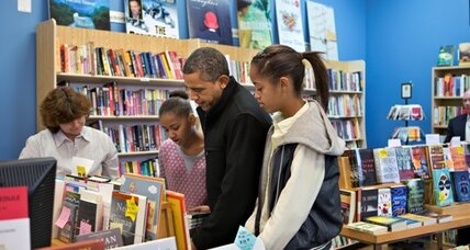 Small business Saturday: Obama buys books