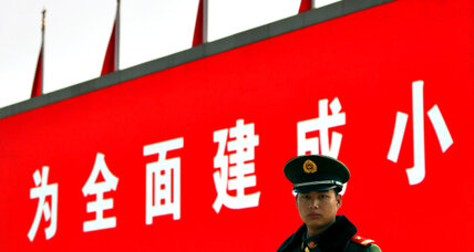 China enlists everyone from cops to cabbies to enforce orderly transition