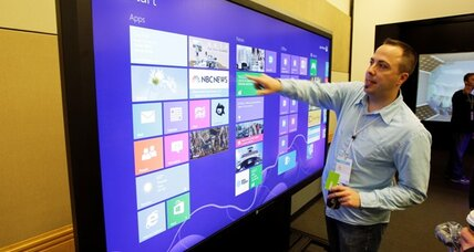 Patents suit filed against Microsoft's Windows 8