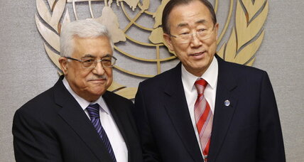 Who backs Palestine UN bid? Ehud Olmert, among others