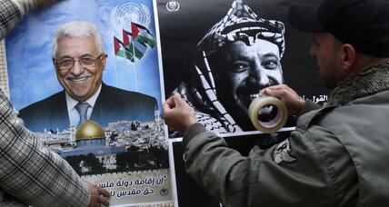 How lonely must it be to be Mahmoud Abbas?