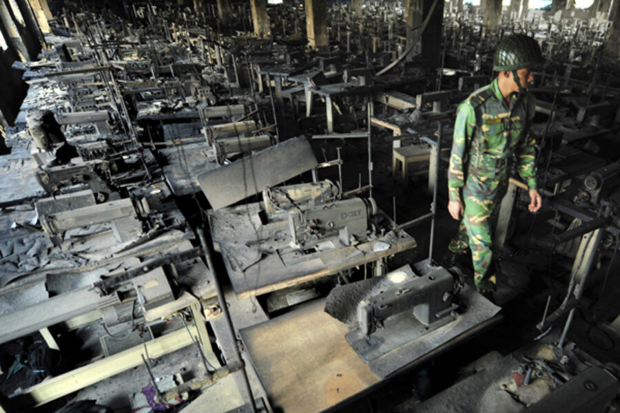 deadly bangladesh garment factory fire spotlights poor working conditions. Black Bedroom Furniture Sets. Home Design Ideas