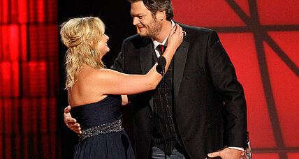 Blake Shelton cleans up at CMA awards