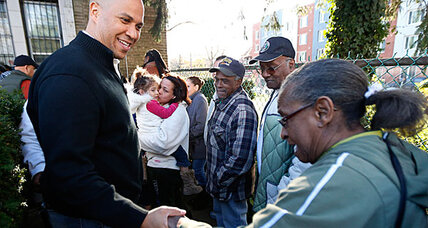 Mayor on food stamps? Cory Booker to live on $1.40 per meal