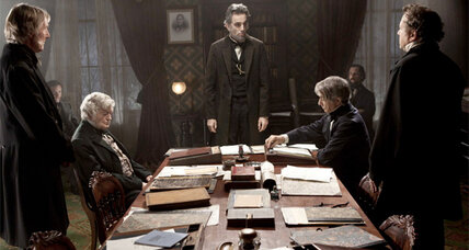 Daniel Day-Lewis plays our sixteenth president in 'Lincoln'