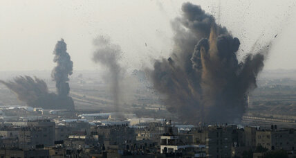 Gaza cease-fire negotiations under way, but fighting rages on (+video)